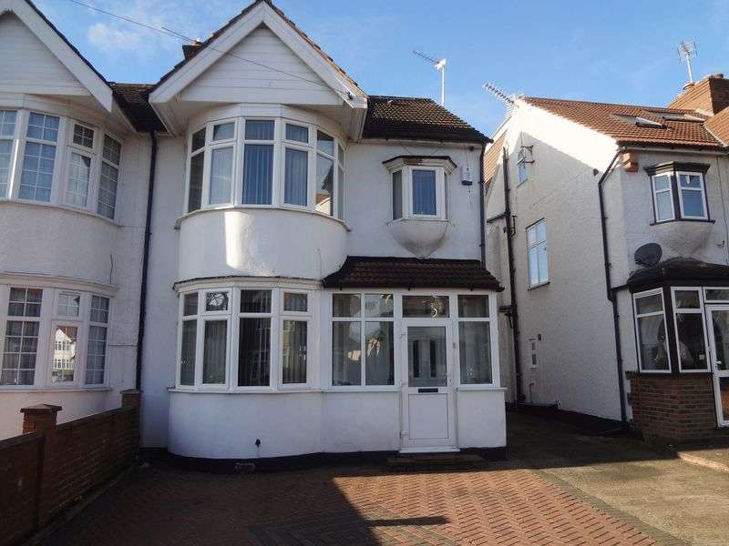 4 Bedrooms Semi Detached House for sale in Larkfield Avenue, Harrow