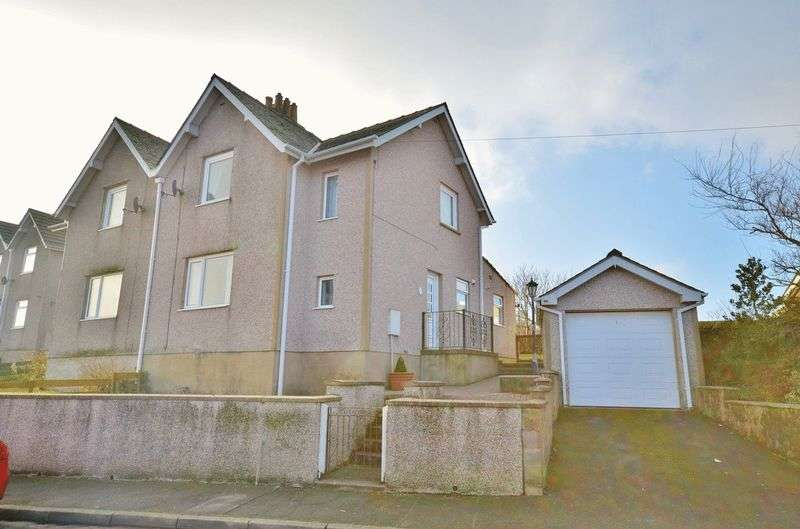 3 Bedrooms Semi Detached House for sale in Hill Top Road, Whitehaven