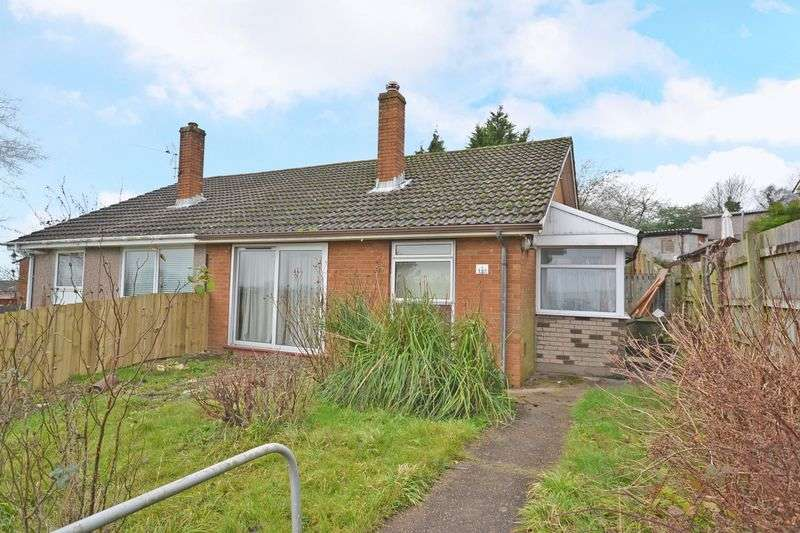2 Bedrooms Semi Detached Bungalow for sale in Bungalow - off Chepstow Road, Newport