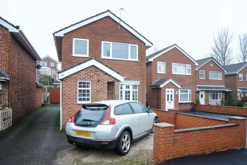 3 Bedrooms Detached House for sale in Renown Close, Eaton Park, Stoke-On-Trent, ST2 9PL