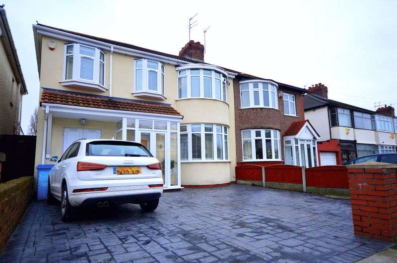 4 Bedrooms Semi Detached House for sale in Pilch Lane East, Roby