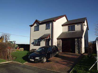 4 Bedrooms Detached House for sale in Rhoslan, Rhosbodrual, Caernarfon, Gwynedd, LL55