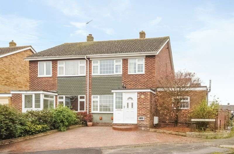 4 Bedrooms Semi Detached House for sale in Longfellow Drive, Abingdon