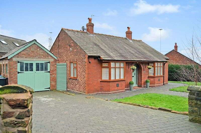2 Bedrooms Detached Bungalow for sale in Bankes Lane, Weston Village