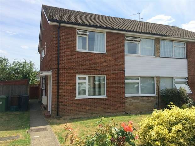 2 Bedrooms Maisonette Flat for sale in Larkspur Way, West Ewell