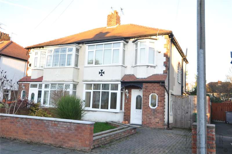 3 Bedrooms Semi Detached House for sale in Girtrell Road, Upton, Wirral