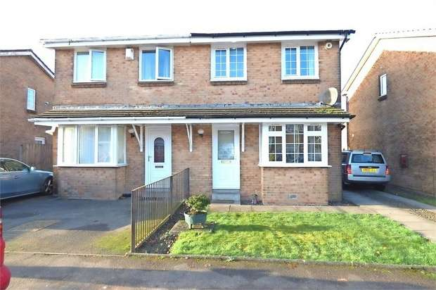 3 Bedrooms Semi Detached House for sale in Strathleven Drive, Alexandria, West Dunbartonshire