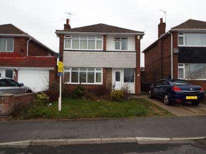 3 Bedrooms Detached House for sale in Bracadale Road, Rise Park, Nottingham, Nottinghamshire