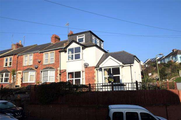 4 Bedrooms End Of Terrace House for sale in Blatchcombe Road, Paignton, Devon