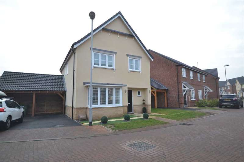 4 Bedrooms Detached House for sale in Maple Lane, Wickford