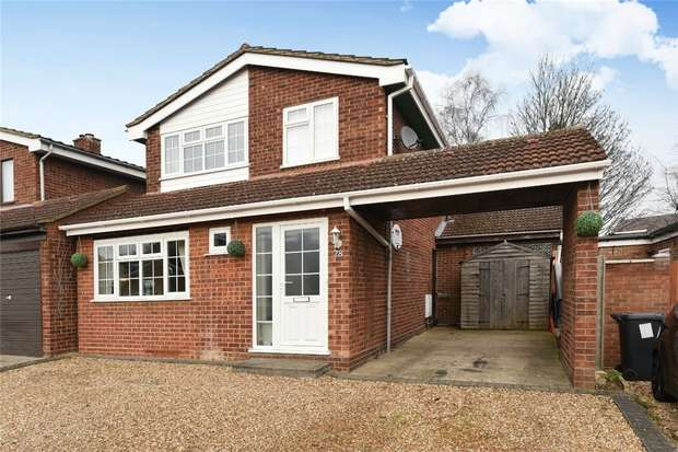 4 Bedrooms Detached House for sale in Willoughby Close, Great Barford, Bedford