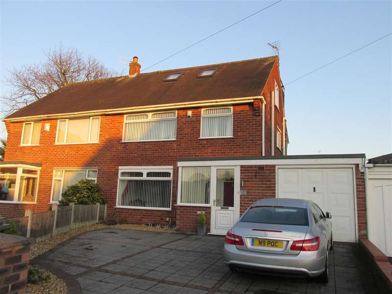 4 Bedrooms Semi Detached House for sale in Wirral Gardens, Bebington