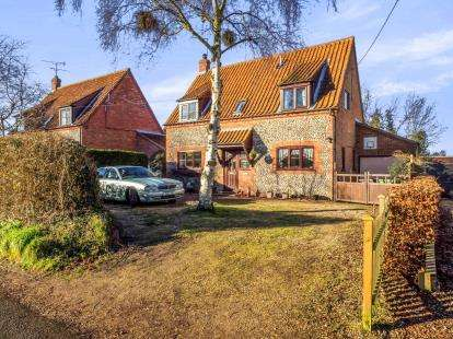 4 Bedrooms Detached House for sale in Stibbard, Fakenham, Norfolk