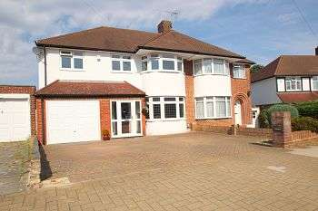 5 Bedrooms Semi Detached House for sale in Edgebury, Chislehurst, Kent, BR7 6JL