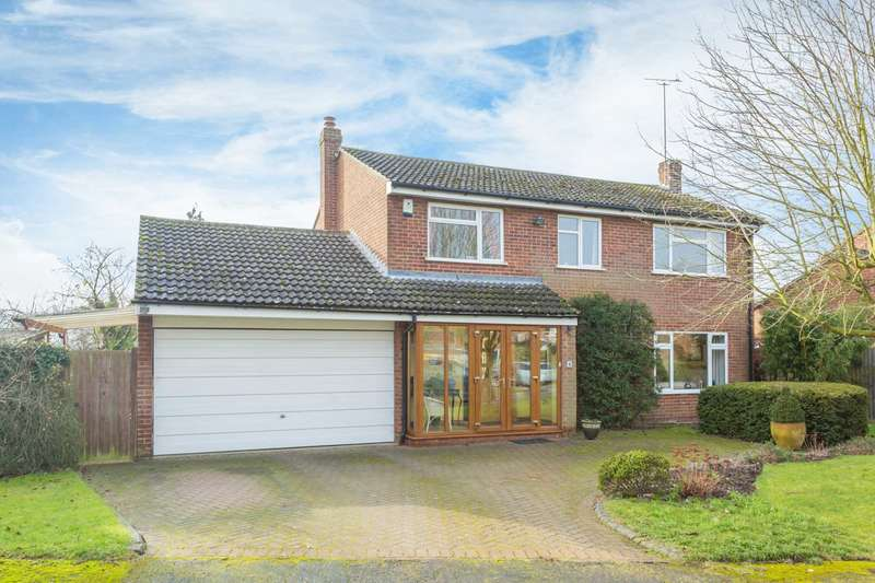 4 Bedrooms Detached House for sale in Chestnut Close, Dagnall