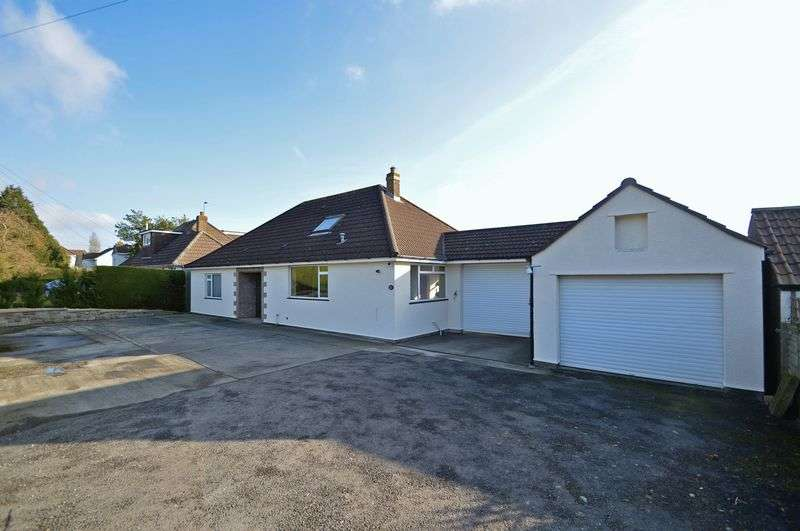3 Bedrooms Detached Bungalow for sale in Backing onto countryside in the village of Tickenham