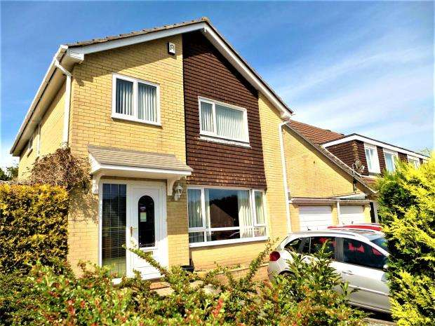 4 Bedrooms Detached House for sale in Lotherton Close, Plymouth, Devon