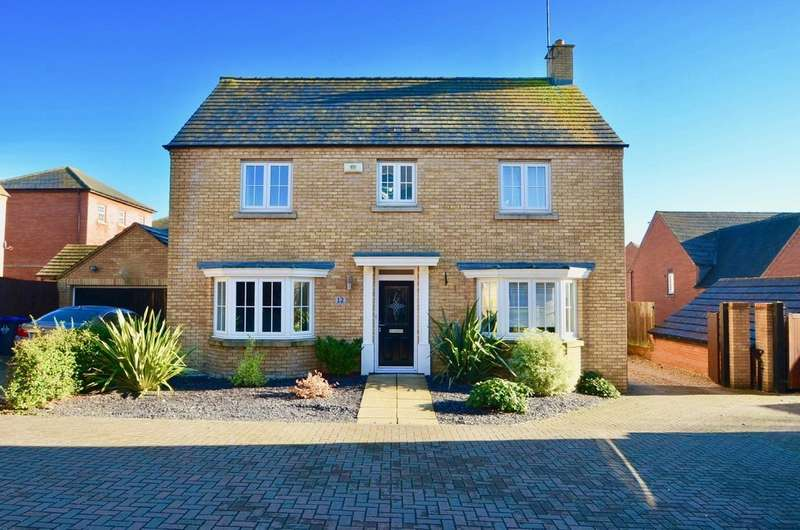 4 Bedrooms Detached House for sale in Long Hassocks, Coton Park, Rugby
