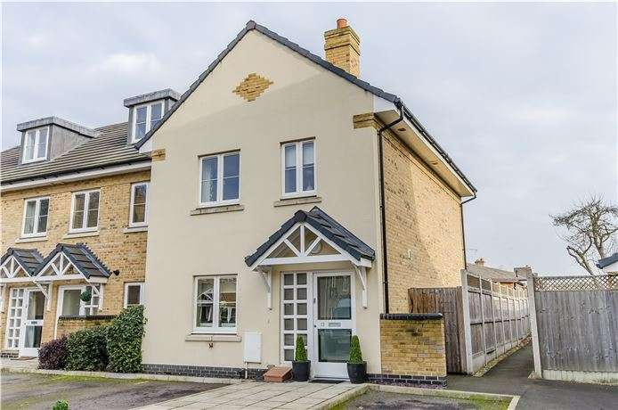3 Bedrooms End Of Terrace House for sale in Moorlands Close, Melbourn, Hertfordshire