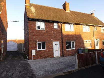 3 Bedrooms Semi Detached House for sale in Third Avenue, Clipstone Village, Mansfield