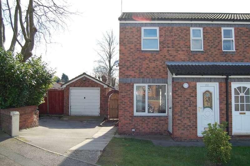 2 Bedrooms Semi Detached House for sale in Howden Way, Eastmoor, Wakefield