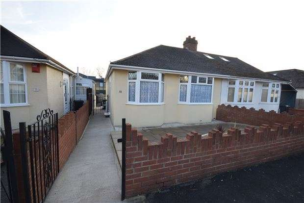 2 Bedrooms Semi Detached Bungalow for sale in Lambrook Road, Fishponds, BRISTOL, BS16 2HA