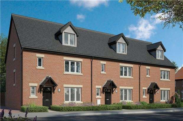 4 Bedrooms End Of Terrace House for sale in Plot 3, The Whitecroft, Hardwicke Grange, Quedgeley, GLOUCESTER, GL2 4QE