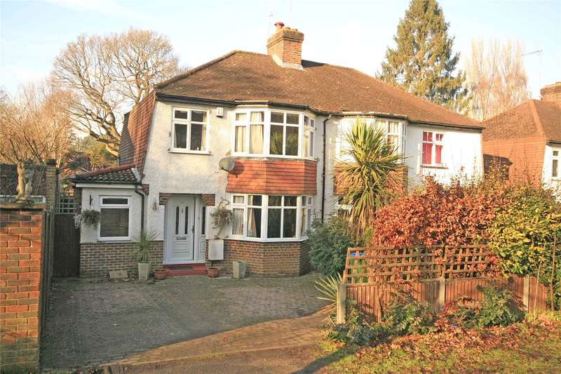 3 Bedrooms Semi Detached House for sale in Brooklands Road, Weybridge, Surrey, KT13