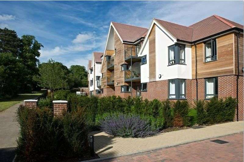 1 Bedroom Flat for sale in Mandeville Court : first floor and ** two balconies **