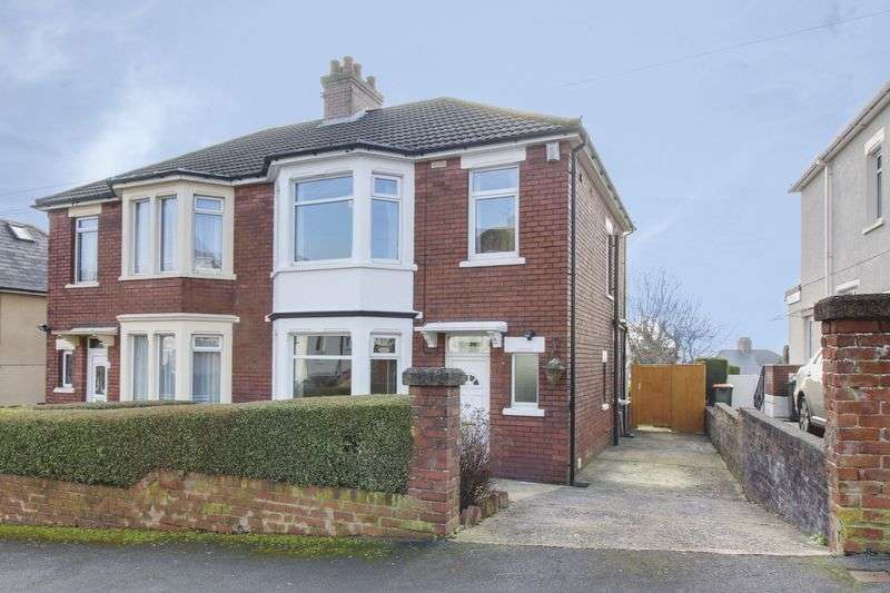 3 Bedrooms Semi Detached House for sale in Beechdale Road, Newport