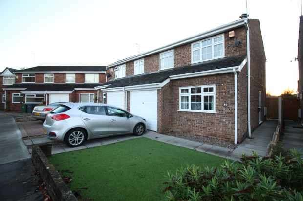 3 Bedrooms Semi Detached House for sale in Brookdale Avenue, Wirral, Merseyside, CH49 2NU