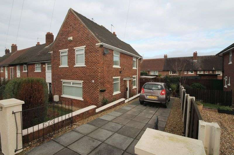 3 Bedrooms Semi Detached House for sale in Cotswold Road, Prenton