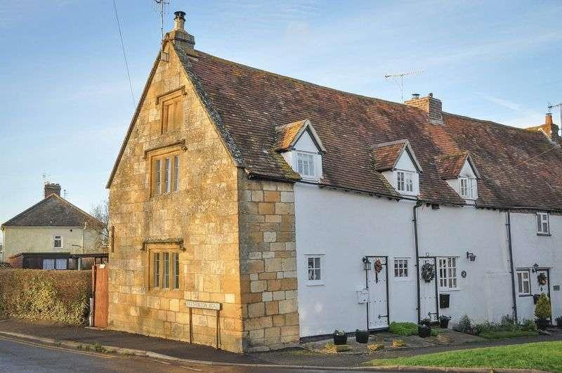 2 Bedrooms Terraced House for sale in School Street, Honeybourne, Evesham, WR11 7PJ