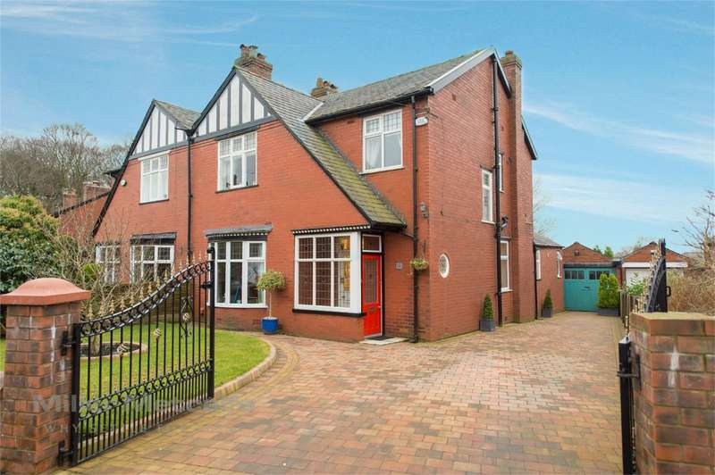 3 Bedrooms Semi Detached House for sale in Westcliffe Road, Sharples, Bolton, Lancashire
