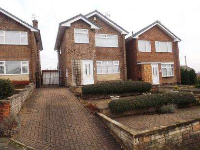 3 Bedrooms Detached House for sale in Grasmere Close, Hucknall, Nottingham, Nottinghamshire