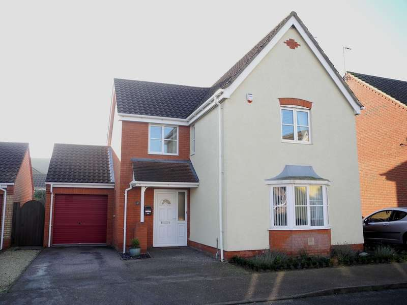 4 Bedrooms Detached House for sale in Copplestone Close, Worlingham, Beccles