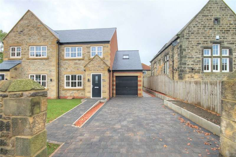 4 Bedrooms Semi Detached House for sale in Phoenix Court, Hare Law, Stanley, DH9