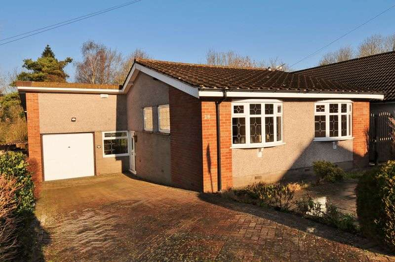 3 Bedrooms Detached Bungalow for sale in Holsom Close, Stockwood, Bristol, BS14