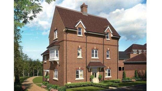 4 Bedrooms End Of Terrace House for sale in Woodhurst Park, Warfield, Berkshire
