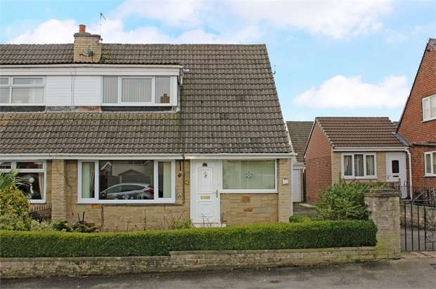 3 Bedrooms Semi Detached House for sale in Moor Top Avenue, Ackworth, Pontefract, West Yorkshire
