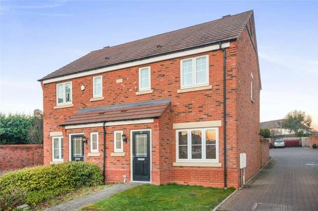 3 Bedrooms Semi Detached House for sale in Wenlock Rise, BRIDGNORTH, Shropshire