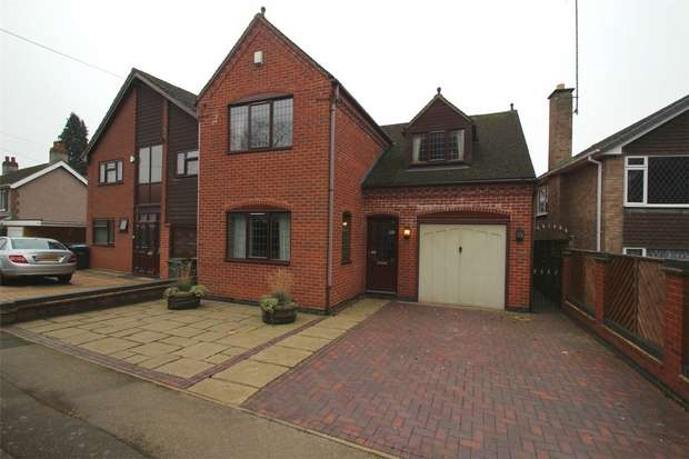 4 Bedrooms Detached House for sale in Central Avenue, Stoke, Coventry