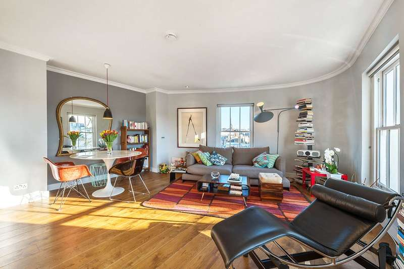 3 Bedrooms Flat for sale in Chepstow Crescent, London, W11