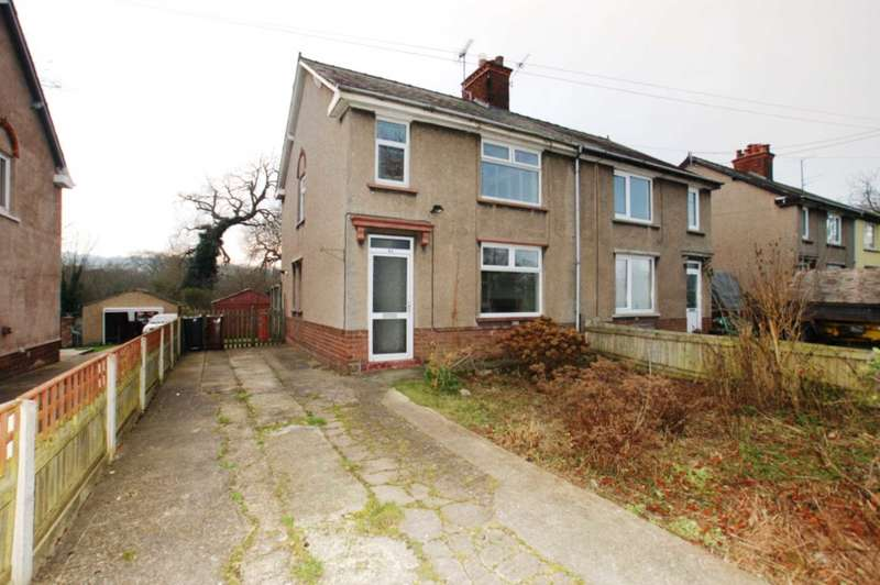2 Bedrooms Semi Detached House for sale in Hafod Y Ddol, Mostyn, Holywell, Flintshire, CH8 9EJ.