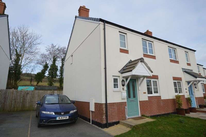 3 Bedrooms Semi Detached House for sale in Cookworthy Close, St Austell