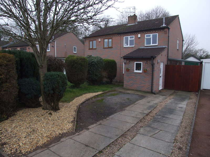 3 Bedrooms Semi Detached House for sale in Polperro Way, Hucknall