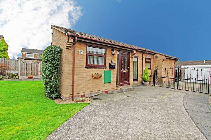 3 Bedrooms Detached Bungalow for sale in Fairfield Close, Bramley, Rotherham
