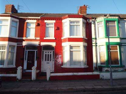 3 Bedrooms Terraced House for sale in Sark Road, Liverpool, Merseyside, L13