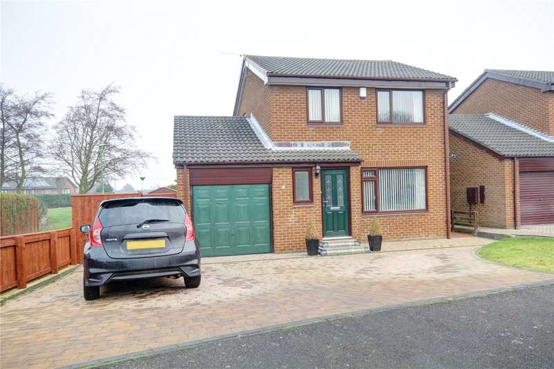 3 Bedrooms Detached House for sale in Cartington Road, Newton Hall, Durham, DH1