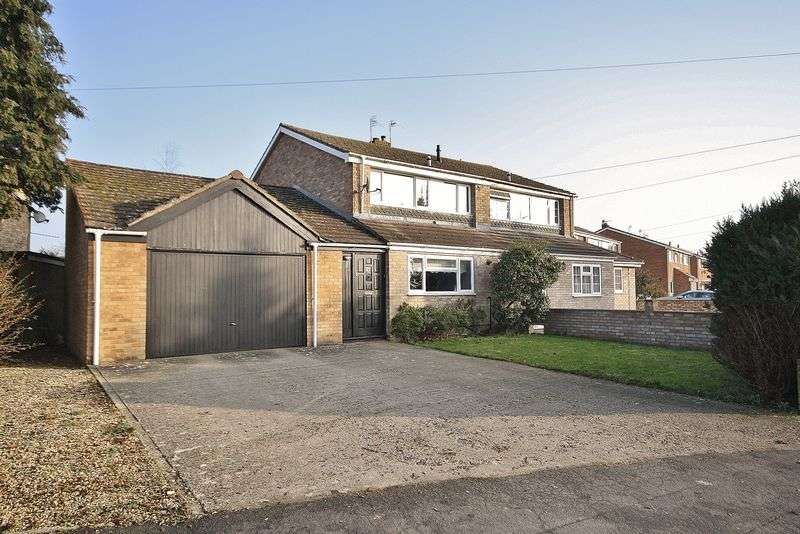 3 Bedrooms Semi Detached House for sale in BURWELL DRIVE, Witney OX28 5ND